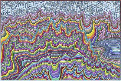 Terra Firma Digital Art - Partly Cloudy by Becky Titus