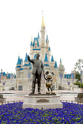 Magic Kingdom Photograph - Partners by Greg Fortier