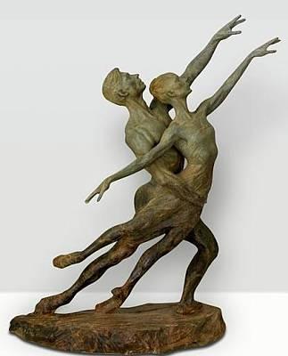 Richard Macdonald Sculpture - Pas De Deux Elegance Stii by Richard MacDonald