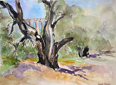 Pasadena Arroyo Oak Original by Jennifer Bentson