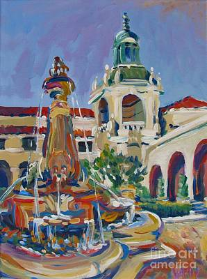 Pasadena City Hall Original by Vanessa Hadady BFA MA