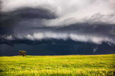 Nebraska Landscape Photograph - Passing By by Sean Ramsey