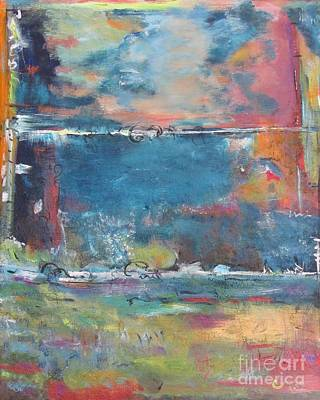 Thunder Painting - Passing Storm by Chaline Ouellet