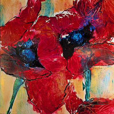 Mixed Media - Passion I by Trish McKinney