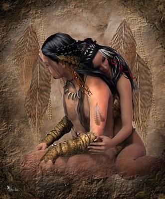 Passion Spirits Print by Ali Oppy