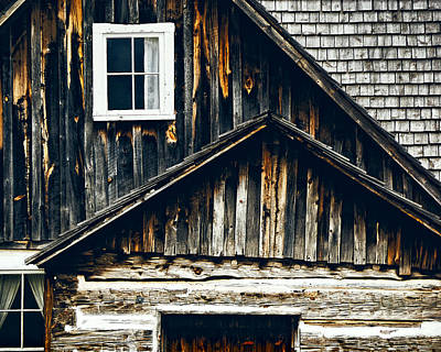 Old Log Cabin Photograph - Past Life by Humboldt Street