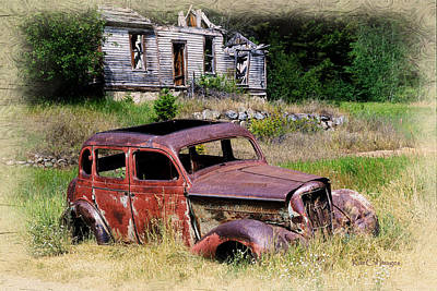Montana Digital Art - Past Their Prime by Kae Cheatham