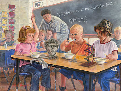 Learning Painting - Pasted by Jeff Brimley