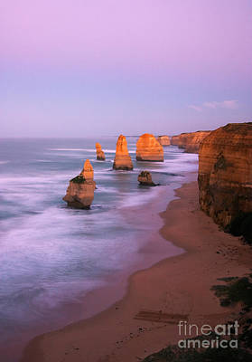 Great Ocean Road Photograph - Pastel Apostles by Mike Dawson
