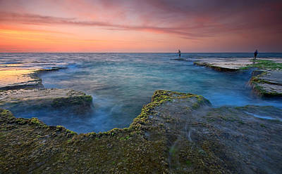 Israel Photograph - Pastel Colors by Amnon Eichelberg