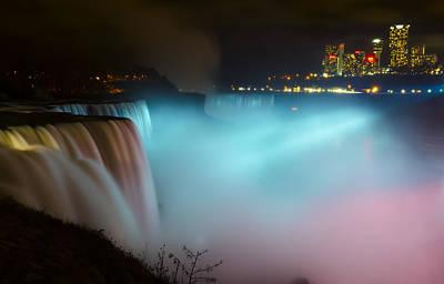 Wall Photograph - Pastel Falls by Mark Papke