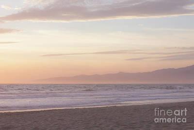 Venice Beach Photograph - Pastel Sunset by Ana V Ramirez