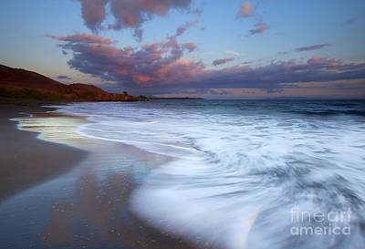 Pastel Sunset Tides Print by Mike Dawson