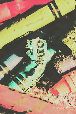 Damage Photograph - Pastel Toned Crayons by Jorgo Photography - Wall Art Gallery
