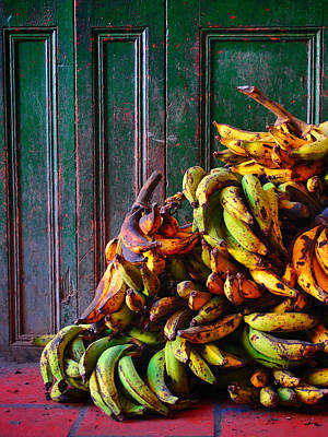 Banana Photograph - Patacon by Skip Hunt