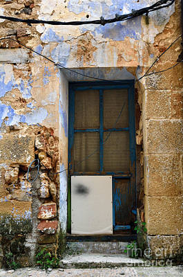 Teruel Photograph - Patched Door by RicardMN Photography
