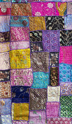 Embroidered Photograph - Patchwork by Tim Gainey