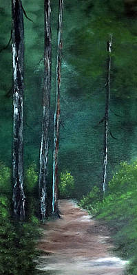 Painting - Path To Solitude by Janet Jackson