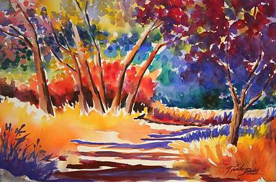 Painting - Path To Wonderful by Therese Fowler-Bailey