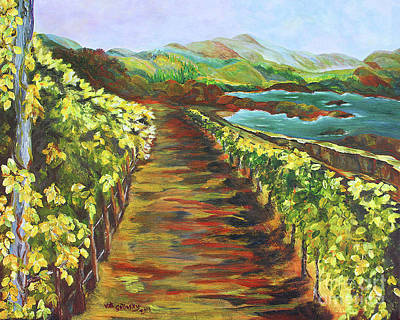 Pathway To The Sea Print by Kat Solinsky