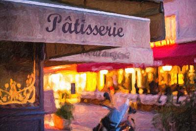Patisserie - Paris Art Print Print by Melanie Alexandra Price