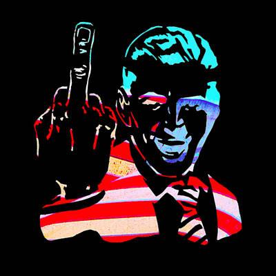 Free Speech Digital Art - Patriot by Zen WildKitty