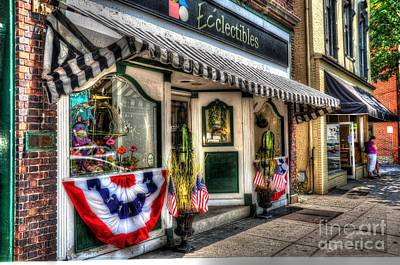 4th July Photograph - Patriotic Street by Debbi Granruth