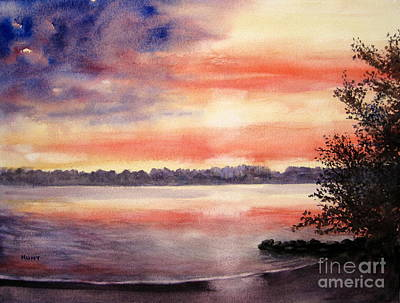 Patriotic Painting - Patriotic Windjammer Sky by Shirley Braithwaite Hunt
