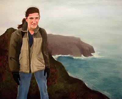 Mountains Painting - Paul by Art Nomad Sandra  Hansen