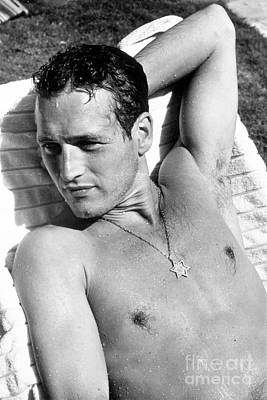 Photograph - Paul Newman by Louis Goldman