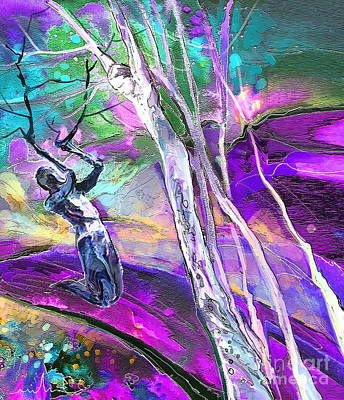 Paul On The Road To Damascus Print by Miki De Goodaboom