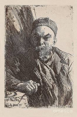 Zorn Painting - Paul Verlaine II by Anders Zorn