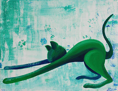 Pause Painting - Pause by Catt Kyriacou