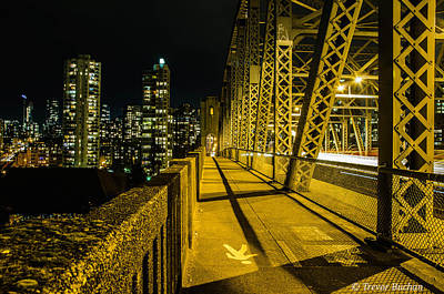 Vancouver Photograph - Paved With Gold by Trevor Buchan