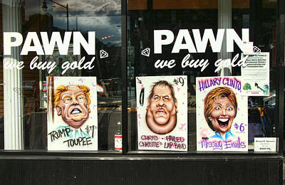 Hillary Clinton Photograph - Pawn Shop Humor by Allen Beatty