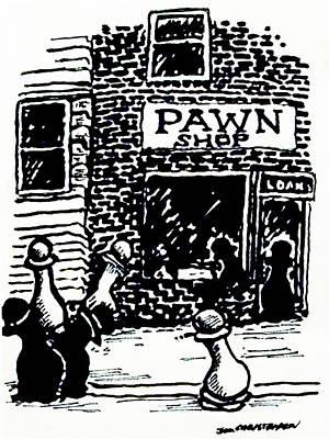 Pawn Shop Original by James Christiansen