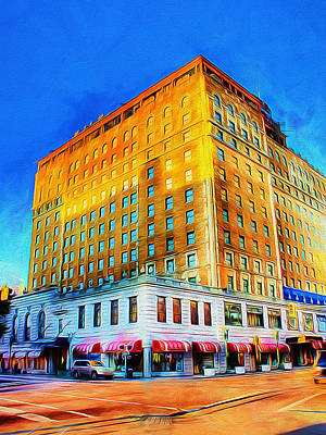Peabody Hotel - Memphis Print by Barry Jones