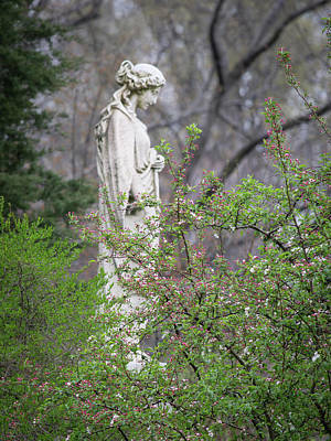Religious Angel Art Photograph - Peace In Eternal Prayer by Dale Kincaid