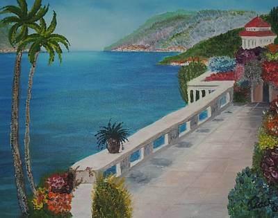 Lassen Painting - Peace In Mediterranean  by Traci Hallstrom