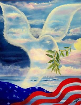 Peace Print by Joni McPherson