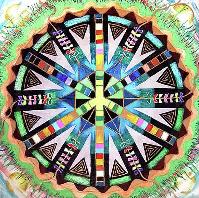 Peace Kites Original by Ethel Mann