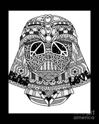 Peace, Love And Vader Original by Drew Normandin
