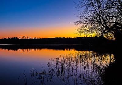Photograph - Peaceful Evening by Rose-Maries Pictures