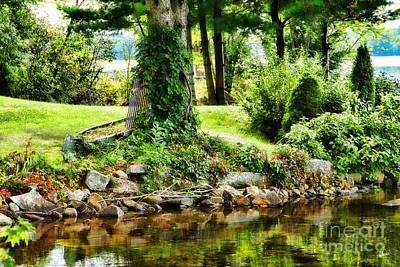 Maine Landscapes Photograph - Peaceful Place by Alana Ranney