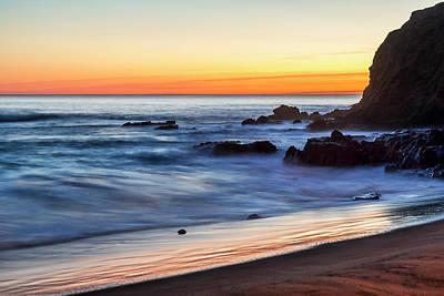 Peaceful Sea Print by Kelley King