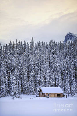 Log Cabins Photograph - Peaceful Widerness by Evelina Kremsdorf