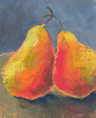 Painting - Pear Love by Shelli Walters