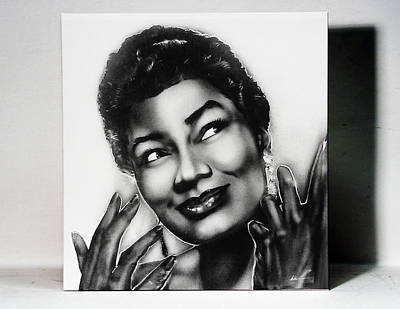 Pearl Bailey Print by Osborne Wolfskill Montaque