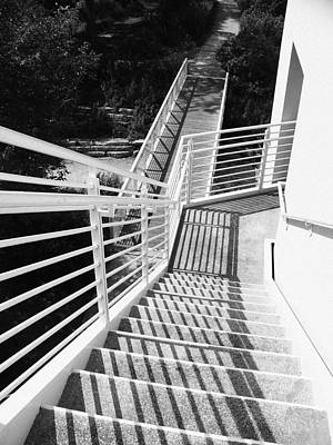 Peggy Notebaert Nature Museum Stairway Print by Kyle Hanson
