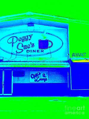 Peggy Sues Diner Photograph - Peggy Sue's Diner by Paula   Baker